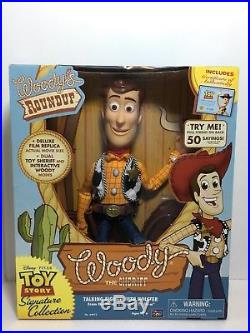 Toy Story Woody's Roundup Talking Sheriff Woody Toy Story Signature Collection