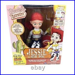 Toy Story Woody's Roundup Yodeling Talking Jessie Doll Never taken out of box