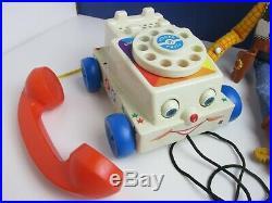 Toy story 3 4 BUZZ LIGHTYEAR WOODY DOLL action figure SLINKY STRETCH DISNEY set