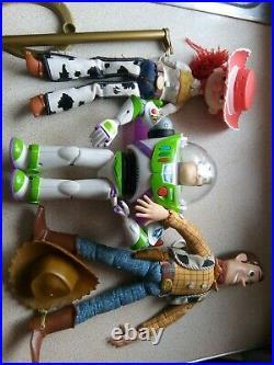 Toy story Jessie buzz woody buzz lightyear dolls Disney Jessica