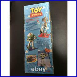 Toy story talking pull string woody parlant Buzz Lightyear doll walt disney set