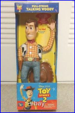 Toy story talking pull string woody parlant doll figure