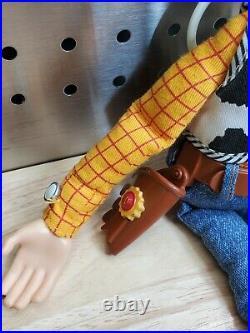 VTG Disney Pixar Toy Story Pull String Talking Woody Thinkway Snake in my boot