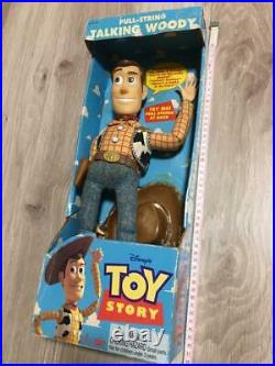 Vintage 1995 Disney Pixar Toy Story Beweglich Zugschnur Sprechen Woody Doll Vhtf