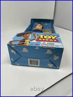 Vintage 1995 Toy Story DISNEY PIXAR Original Poseable Pull-String TALKING WOODY