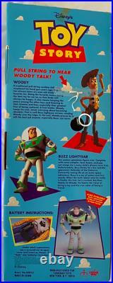 Vintage 1995 Toy Story DISNEY PIXAR Original Pull-String TALKING WOODY SEALED