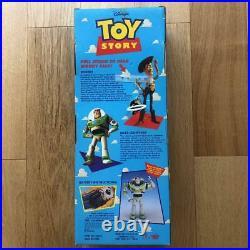 Vintage 1995 Toy Story DISNEY PIXAR Original Pull String TALKING WOODY Used