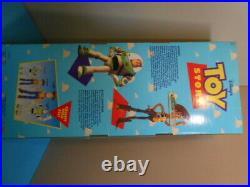 Vintage 1995 Toy Story DISNEY PIXAR Original Pull String WOODY