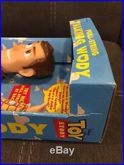 Vintage Disney Pixar Toy Story 16 Pull-String Talking Woody DollThink Way 1995