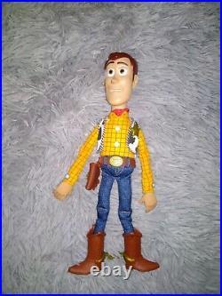 Vintage Disney Pixar Toy Story Pull String Talking Woody Tested & Works
