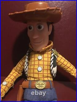 Vintage Disney Toy Story Toys Pull-string Woody Talking Doll