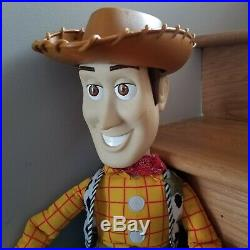 Vintage Disney Toy Story Woody Doll with Hat Large 32 by Mattel Inc