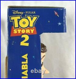 Vintage Think Way Disney Pixar Toy Story 2 Pull String Talking Woody Doll