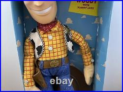 Vintage Toy Story Adventure Buddy Woody Doll 20Thinkway Toys NEW