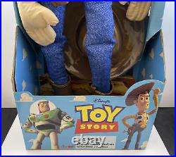 Vintage Toy Story Adventure Buddy Woody Doll 20 Thinkway Toys NEW