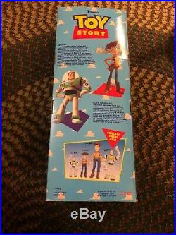 Vintage Toy Story Adventure Buddy Woody Doll. New In Original Box. Unopened