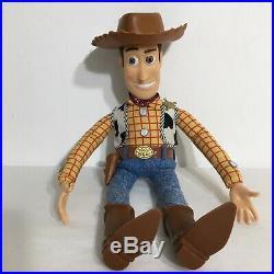 Vintage Toy Story Pull String Talking Woody Doll Disney Pixar Thinkway Toys