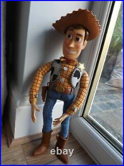 Vintage Toy Story Woody Talking Doll 1995 Rare Version