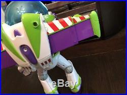 WARNING Haunted! Toy Story Woody And Buzz Lightyear Talking Big Figure Disney