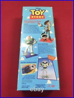 Walt Disney Toy Story Talking Pull String Woody Doll 1 Edition 1995 Japan F/S