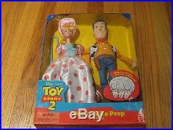 Woody & Bo Peep Gift Set Disney Pixar Toy Story 2. Free Shipping
