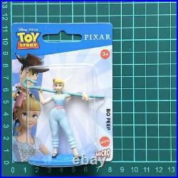 Woody Buzz Bo Peeps Figure Disney Pixar Toy Story Mattel Micro