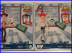 Woody & Jesse Pull String Talking Doll Figurines Toy Story