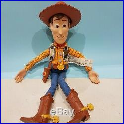 Woody Pull String Toy Story One eyed Bart Talking doll toy