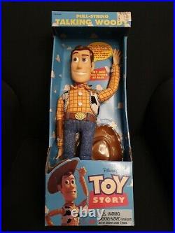 Woody Thinkway Vintage Toy Story Talking BNIB