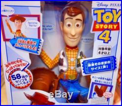 Woody Toy Story 4 Real Size Talking Figure 37 cm tall Figurine Doll