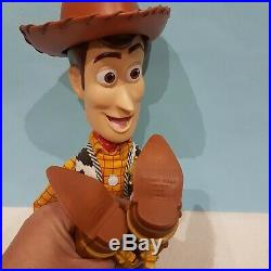 Woody Toy Story Talking Pull String 15 Doll and Hat snake in boot