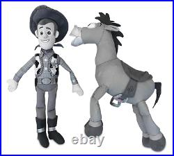 Woody and Bullseye Plush Set Toy Story 25th Anniversary Limited Release