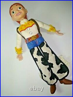 Woody and Jessie Interactive Buddies Talking Action Figures Toy Story 2 Thinkway