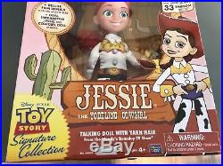 Woody's Round up Jessie Yodeling cowgirl talking doll Toy Story Pixar toy