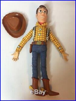 Working Disney Pixar Toy Story Talking Woody + Jessie Dolls Pull String Lot of 2