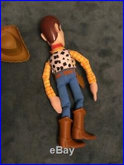 XL Very Rare Toy Story Woody 3 Foot Large Collectible Doll Figure Disney Pixar