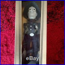Young Epoch Toy Story Roundup Woody Black & white ver. Figure Doll Vintage Rare