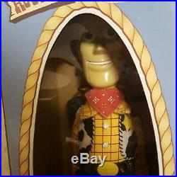 Young Epoch Toy Story Roundup Woody Figure Doll Life size replica Rare Vintage