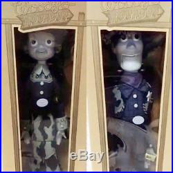 Young Epoch Toy Story Roundup Woody Jessei Black & white ver. Figure Doll Rare